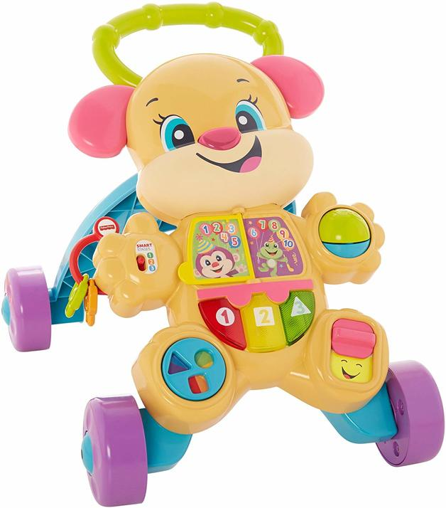 Fisher-Price Laugh & Learn Smart Stages Learn with Puppy Walker photo